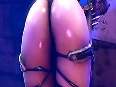 Ivy Valentine Sexy Pole Dancing video Careless Whisper Trap Remix