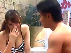 Magic Mirror bikini Wife And Husband's Friend Challenge FuckGame MEI004.1