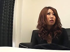 Sachi Suzuki is about to experience an orgasm