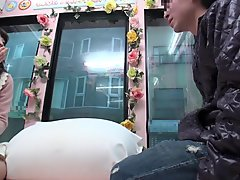 Incredible Japanese whore in Crazy Public JAV movie