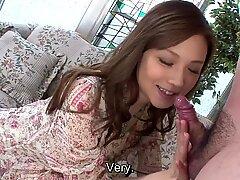 Uncensored japanese Ayumu Sena blowage interview Subtitled