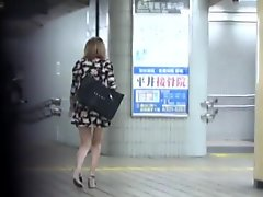 Heeled asians public ###